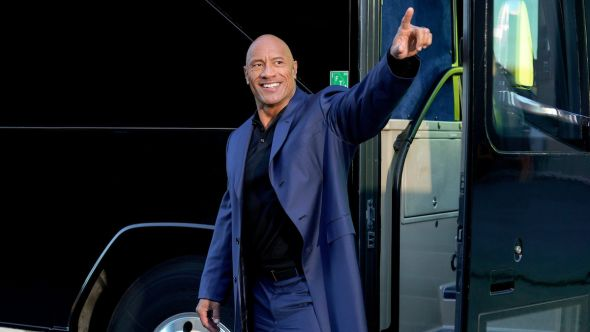 dwayne johnson the rock president run