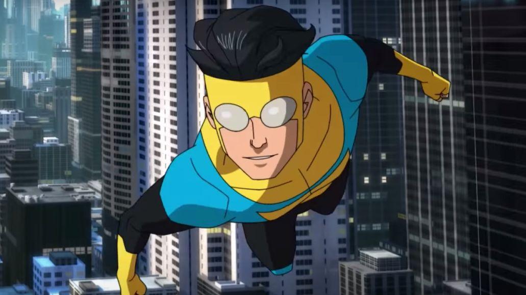 invincible amazon prime original series cartoon animated robert kirkman walking dead