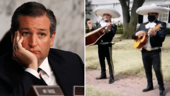 ted cruz mariachi band cancun texas mexico
