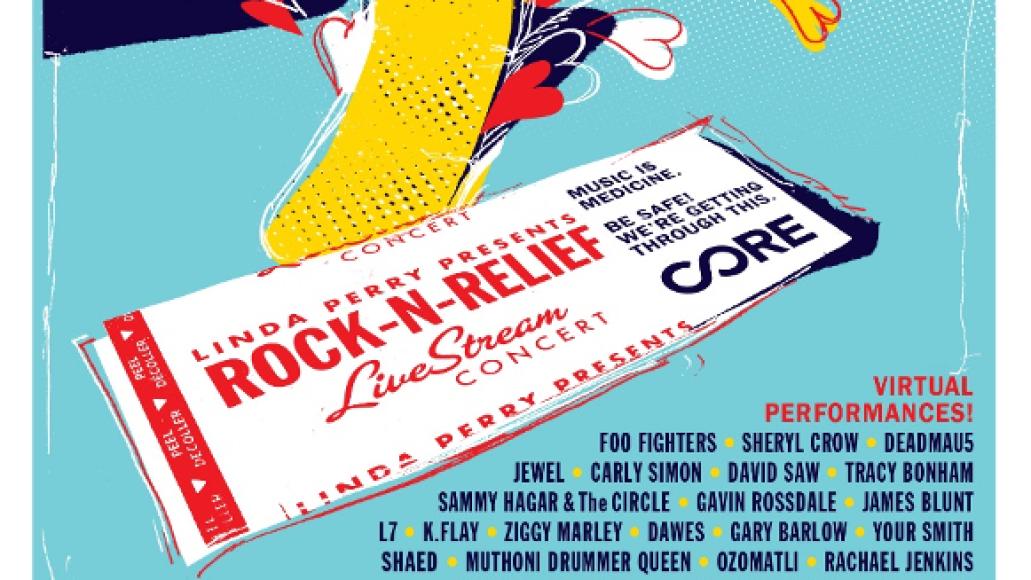 rock n relief poster