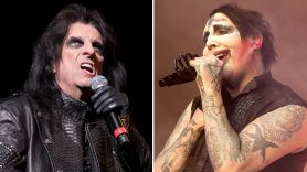 Alice Cooper comments on Marilyn Manson