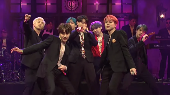 BTS, NBC's Saturday Night Live
