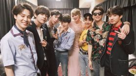 BTS with Taylor Swift
