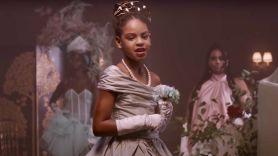 "Blue Ivy Carter in video for ""Brown Skinned Girl"""