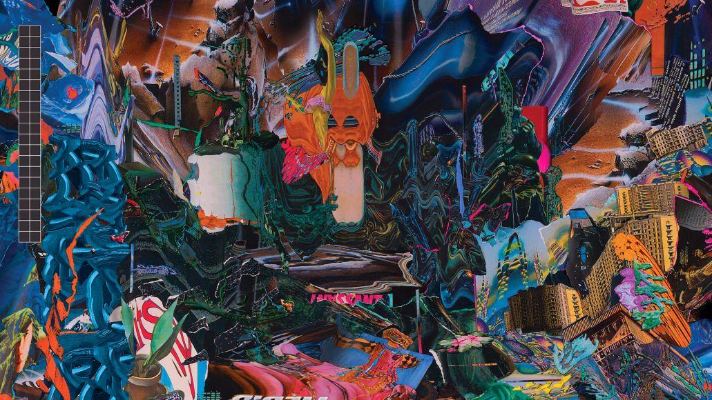 black midi Cavalcade artwork