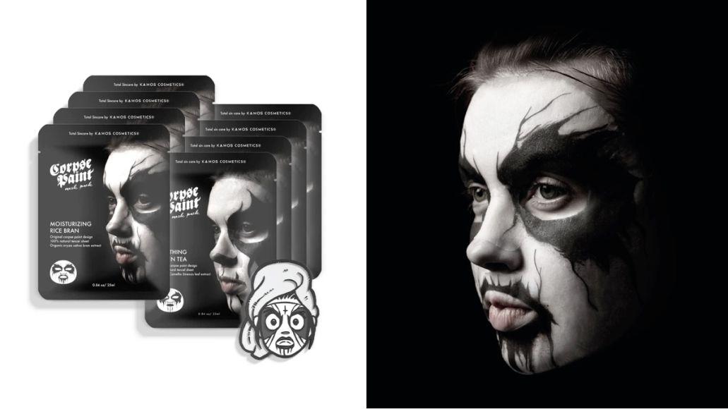 Corpse Paint Facial Mask 1