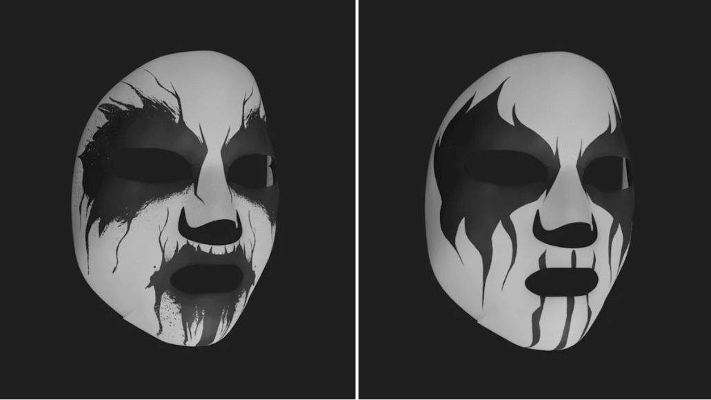 Corpse Paint Facial Mask 2