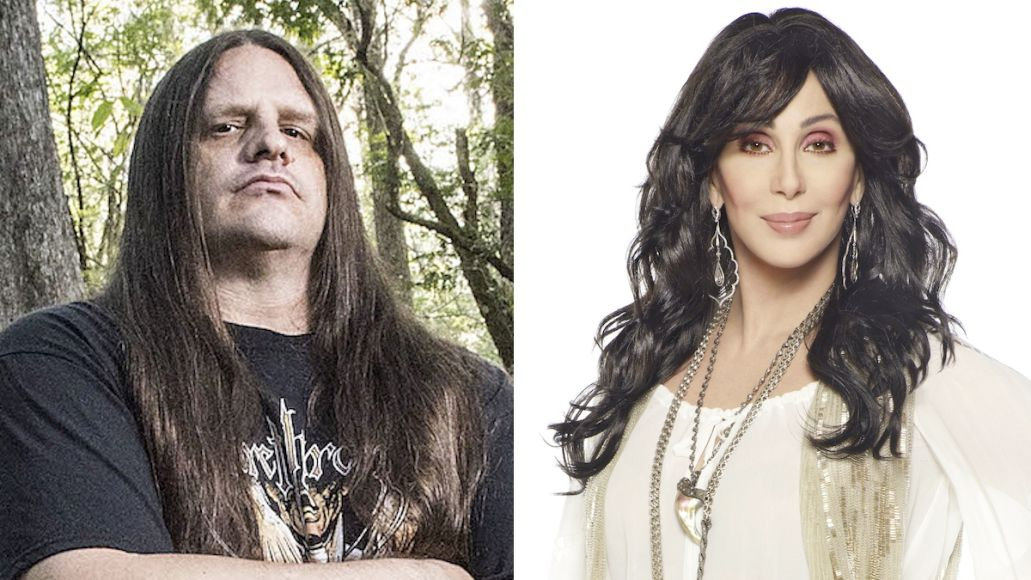 Corpsegrinder hung out with Cher