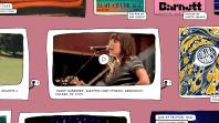 Courtney Barnett live archive video performance set old website