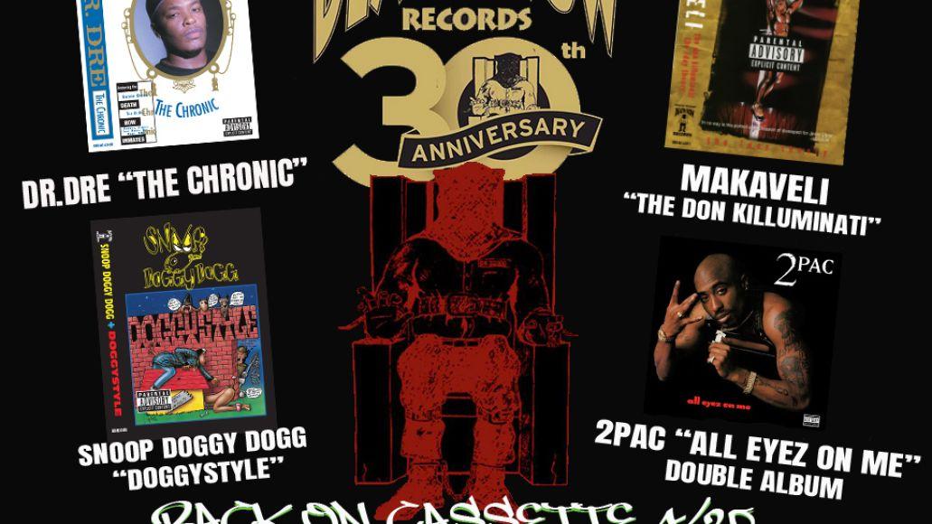 Death Row cassettes