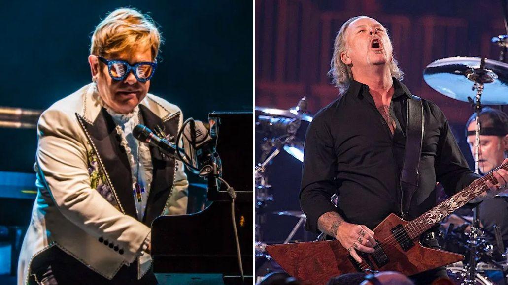 Elton John Says He's Done Something with Metallica