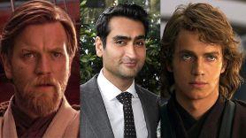 Ewan McGregor (Disney), Kumail Nanjiani, and Hayden Christensen (Disney) Obi-Wan Kenobi cast series Disney show actors