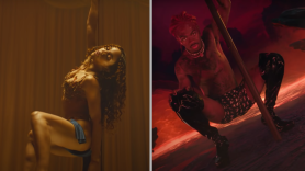 Lil Nas X FKA Twigs Montero Call Me By Your Name music video Cellophane FKA Twigs and Lil Nas X, photos via YouTube