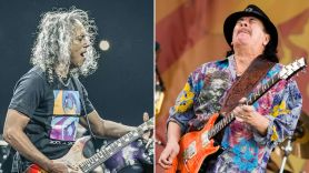 New Carlos Santana Album to Feature Metallica's Kirk Hammett