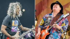 New Carlos Santana Album to Feature Metallica's Kirk Hammett