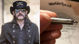 Lemmy Bullet with Ashes