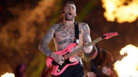 Adam Levine no bands quote Maroon 5 band, photo via YouTube