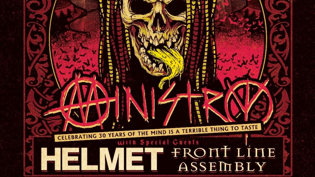 Ministry Fall 2021 Tour Poster