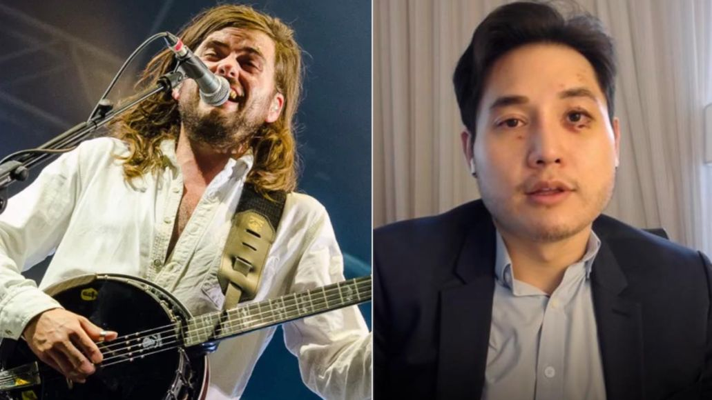 Mumford and Sons Andy Ngo