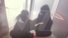 Quavo Saweetie elevator fight