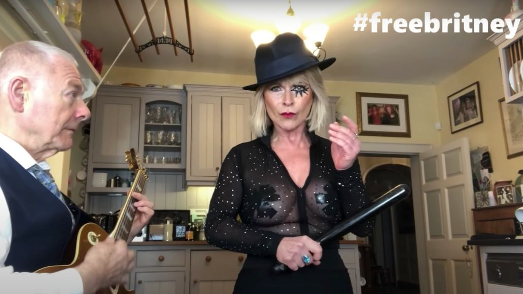 """Robert Fripp and Toyah cover Britney Spears' """"Toxic"""""""