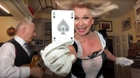 Robert and Toyah Ace of Spades