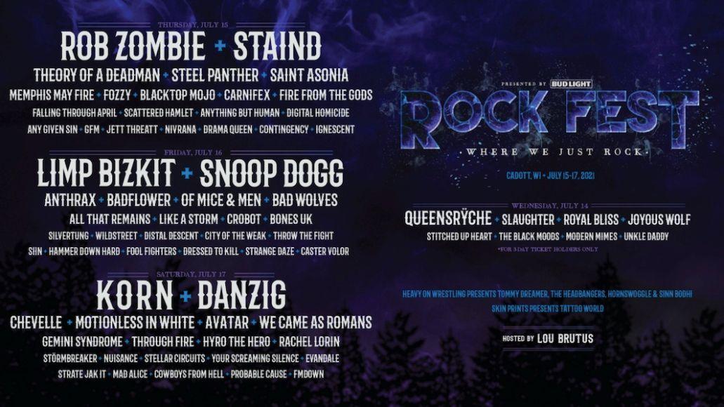 Rock Fest 2021 Poster