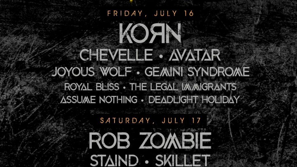 Upheaval Festival 2021 poster