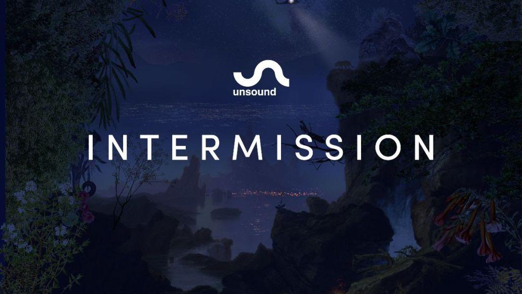 intermission unsound festival album artwork
