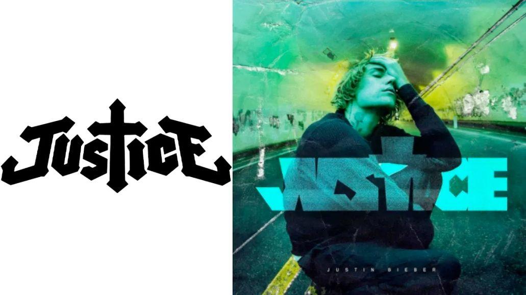 justin bieber justice band logo similarity rip off