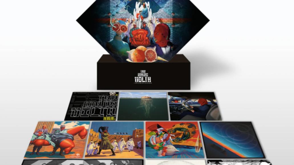 la realidad de los suenos artwork The Mars Volta Announce Staggering 18 LP Box Set with Unreleased Material