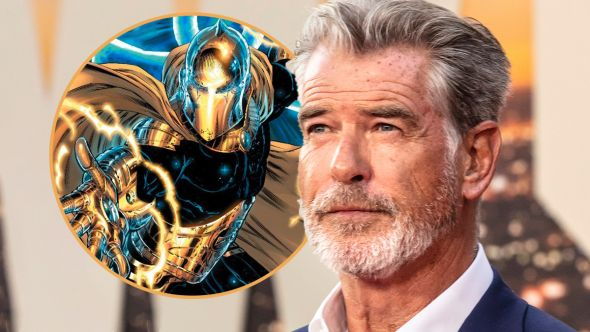 pierce brosnan dr fate black adam movie