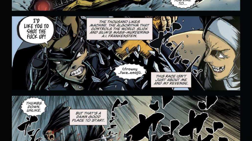 Strugill Simpson sound and fury graphic novel page 2