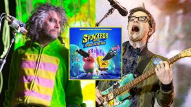 the spongebob movie sponge on the run soundtrack weezer flaming lips