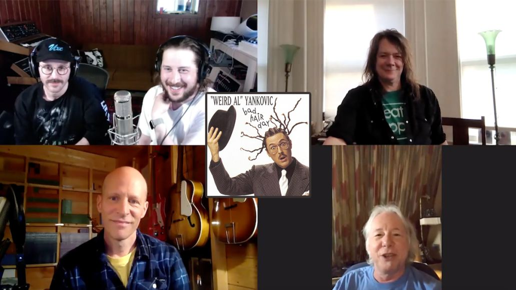 weird al yankovic bad hair day 25th anniversary round table mike mills rem Dave Pirner soul asylum presidents of the united states Chris Ballew
