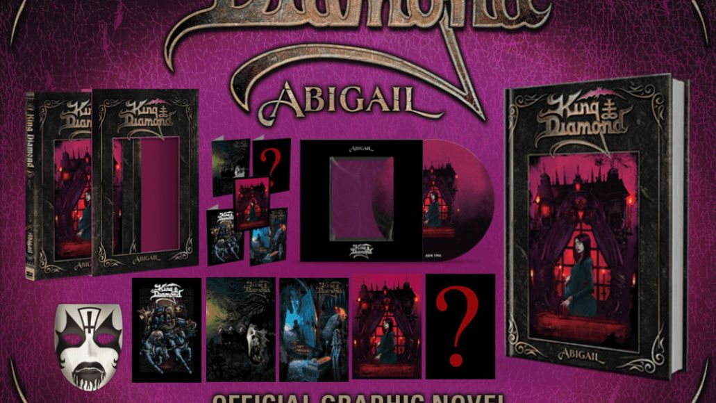 Abigail comics King Diamond and Z2 Comics Partner for Graphic Novel Adaptation of Classic Album Abigail