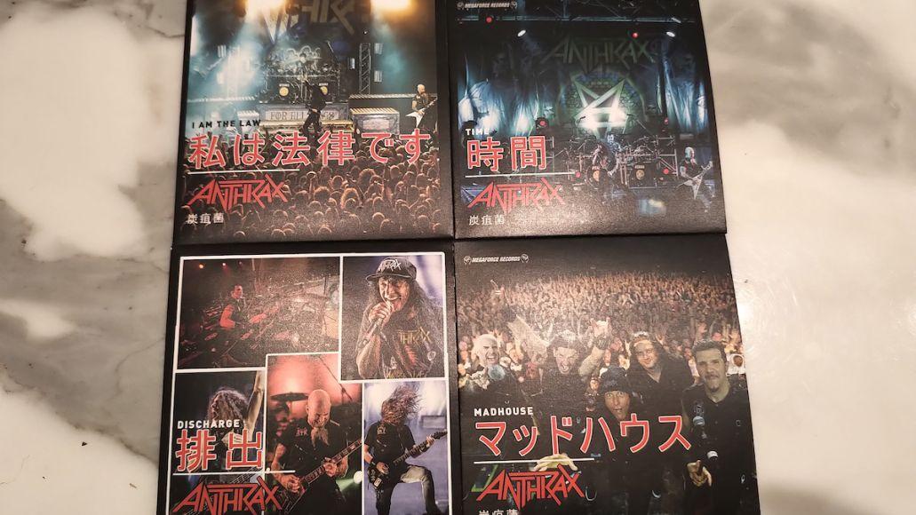 Anthrax RSD 4x3-inch vinyl bundles