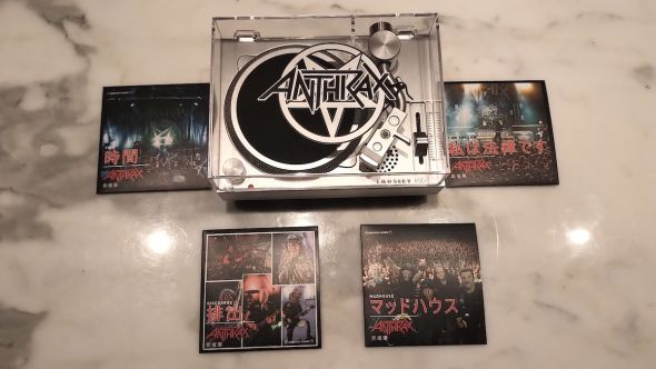 Anthrax RSD Mini Turntable