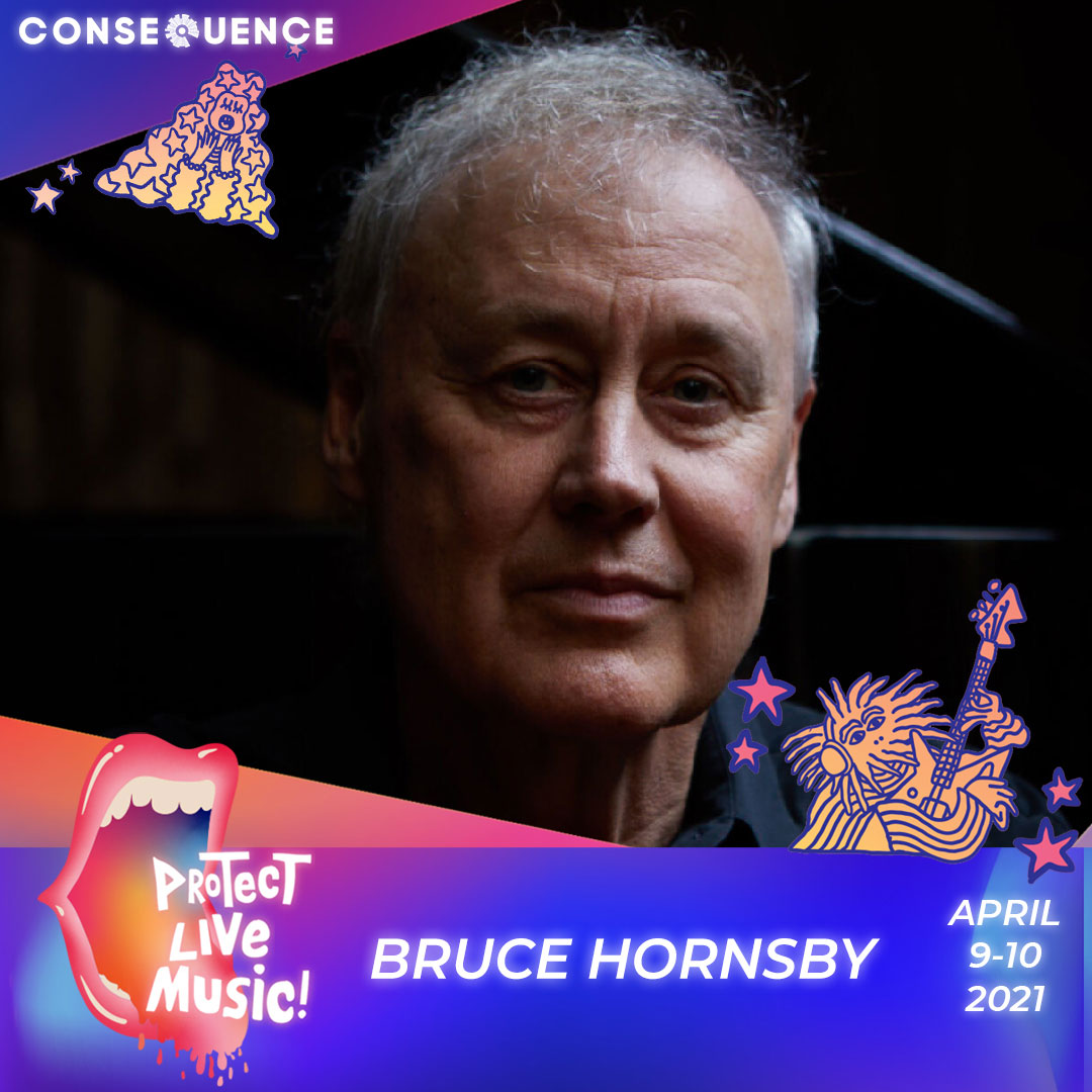 BRUCE HORNSBY IG Protect Live Music Livestream: Get Your Free Ticket