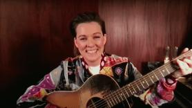 Brandi Carlile A Case of You Joni Mitchell cover song stream live (CBS)