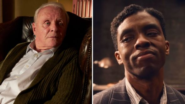 Chadwick Boseman First Oscar Best Actor ma rainey's black bottom anthony hopkins the father upset snub robbed