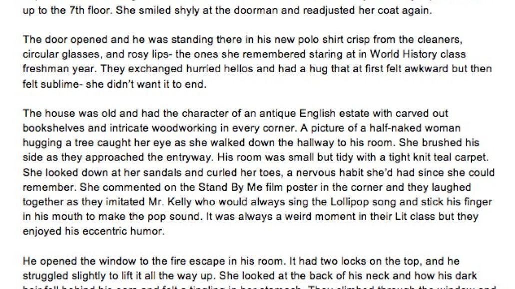 Course_Sixteen_Short Story