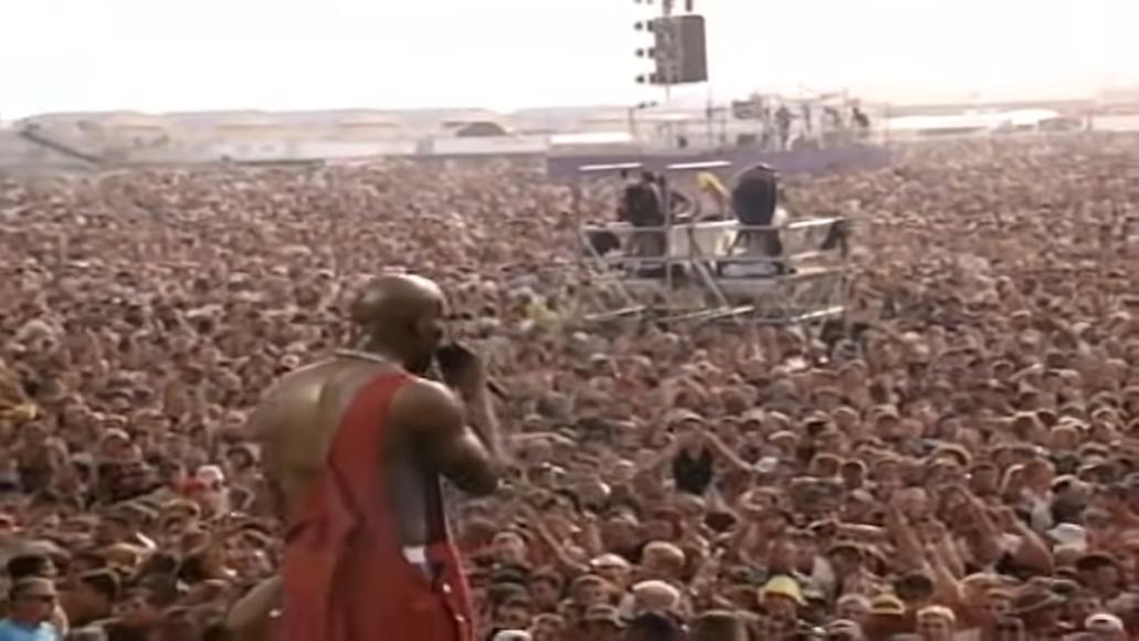 Revisit DMX's Woodstock '99 Performance