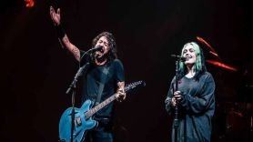 "Dave and Violet Grohl Share Cover of X's ""Nausea"""
