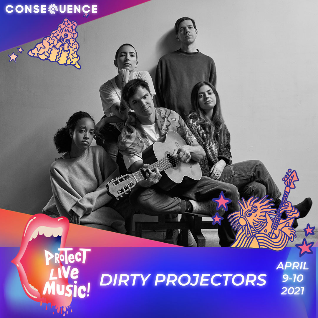 Dirty Projectors IG Protect Live Music Livestream: Get Your Free Ticket