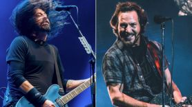 Foo Fighters Eddie Vedder