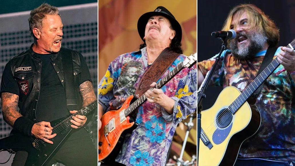 James Hetfield Santana Jack Black Highlight Little Kids Rock Benefit