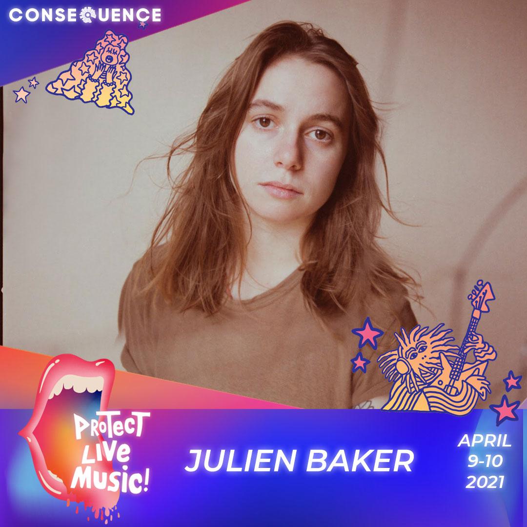 Julien Baker IG Protect Live Music Livestream: Get Your Free Ticket