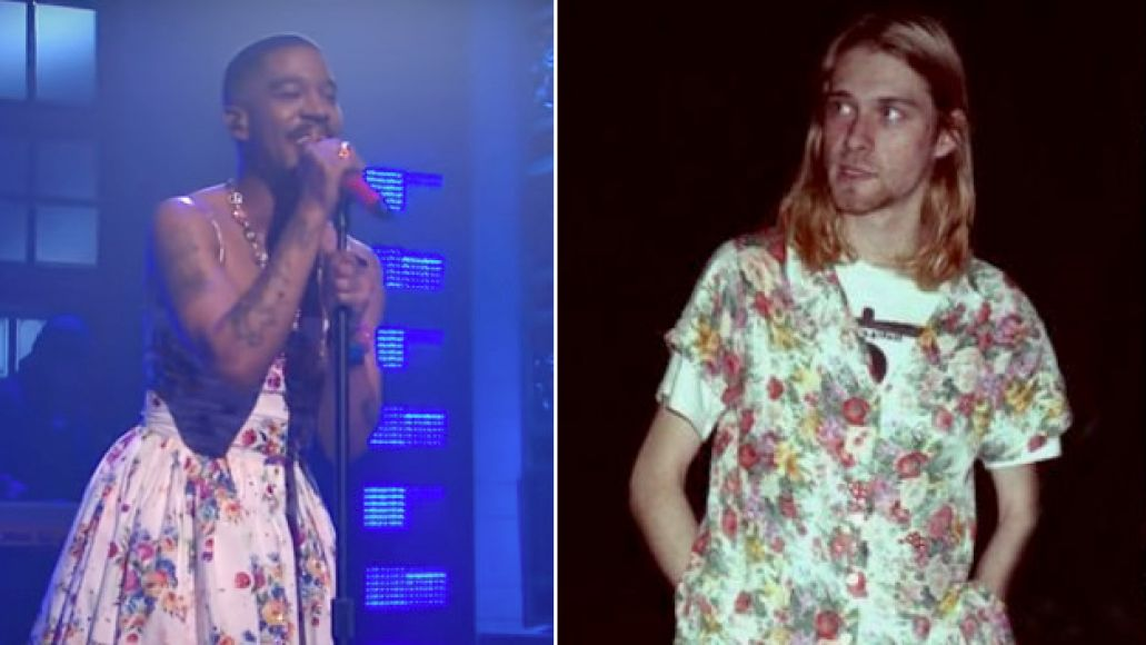 Kid Cudi Wears Dress on SNL in Tribute to Kurt Cobain: Watch