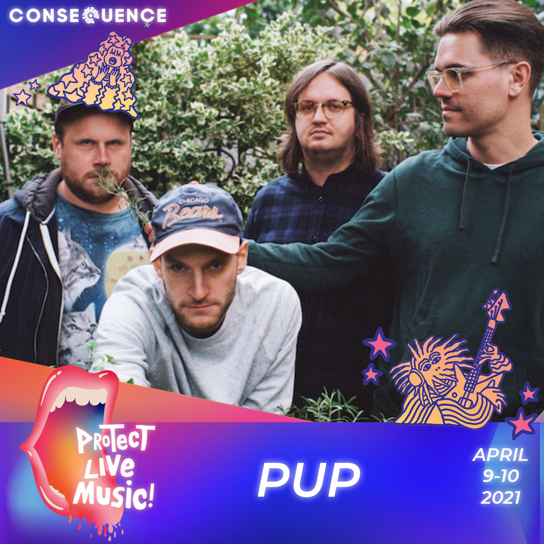 PUP IG Protect Live Music Livestream: Get Your Free Ticket